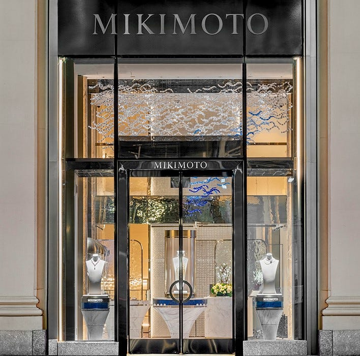 NEW Mikimoto Flagship Boutique Opens in New York