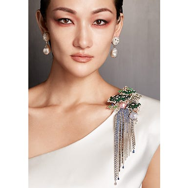 """Mikimoto Celebrates the Launch of its New High Jewellery Collection, """"The Japanese Sense of Beauty"""""""